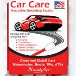 Swab-its® Car Care Detailing Swabs Now Available at Walmart Stores!