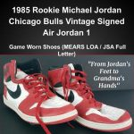 Grandma's 1985 Michael Jordan Signed Game Worn Rookie Shoes Expected to Bring $1,000,000+